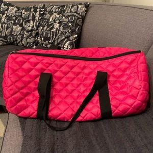 Handbags - Hot Pink Duffle